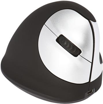R-Go HE ergonomische muis, medium, draadloos, voor rechtshandigen