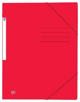 Oxford Top File+ elastomap uit karton, ft A4, rood