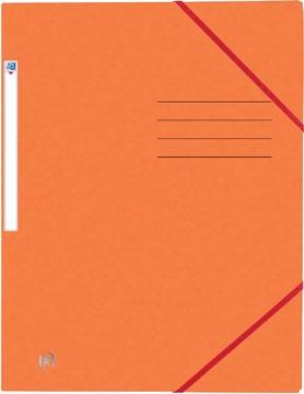 Elba Oxford Top File+ elastomap, voor ft A4, oranje