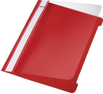 Leitz Snelhechtmap rood, ft A5, doos van 25 stuks