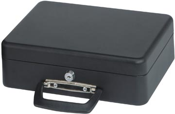 Maul geldkoffer, ft 30 x 25,8 x 9 cm, zwart