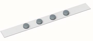 Maul metaalstrip MAULstandard, ft 1 m, incl. 4 magneten