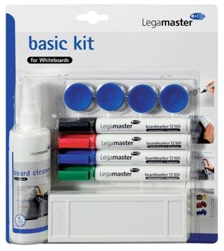 Legamaster basic kit voor whiteboards, op blister