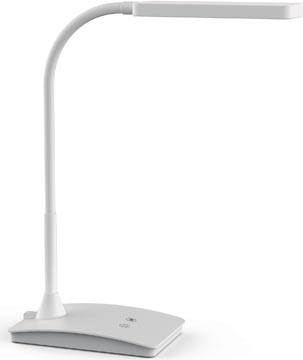 Maul bureaulamp Maulpearly, LED-lamp, wit