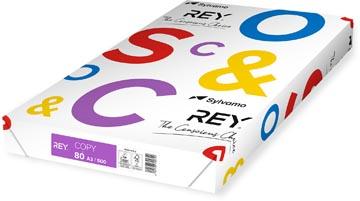 Rey Copy printpapier ft A3, 80 g, pak van 500 vel