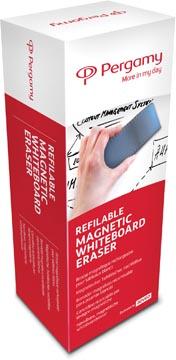 Pergamy magnetische bordenwisser voor whiteboards, navulbaar