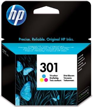 HP inktcartridge 301, 165 pagina's, OEM CH562EE, 3 kleuren