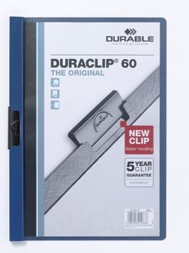 Durable Klemmap Duraclip Original 60 donkerblauw