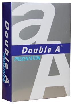 Double A Presentation presentatiepapier ft A4, 100 g, pak van 500 vel