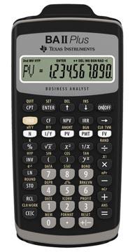 Financiële rekenmachines