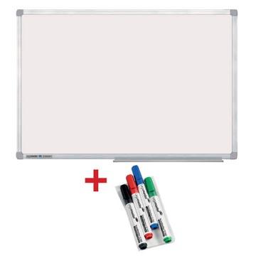 ACTIE LEGAMASTER: 1 x whiteboard Economy, 60 x 90 cm + GRATIS 1 x marker TZ 100, 4 stuks