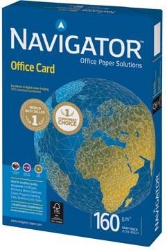 Navigator Office Card presentatiepapier ft A4, 160 g, pak van 250 vel
