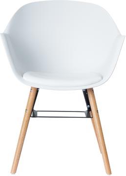 Paperflow set van 2 stoelen Wiseman, wit